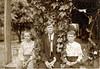 Left to right: T. J. Futch, Levi Futch, Alvin Futch c. 1918