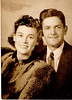 Hattie Mae Gaskins and John Darby, circa 1940s