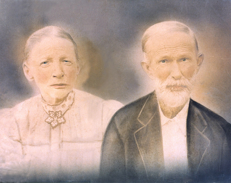 Joseph (1840-1911) and Harriet Sirmans Gaskins (1841-1911).  He was the son of John Thomas Gaskins. Both are buried at Riverside Church Cemetery, eastern part of county