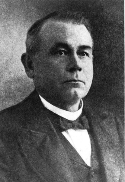 """George V. Gress, the """"Lumber King"""" built the Milltown Manufacturing Company, a large lumber business in 1902. Photo courtesy of Atlanta Historical Society."""