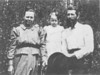 Ellen D. Griffin, Myrtie Lou, and William Henry Griffin<br /> Photo courtesy of Carolyn Peters Griffin