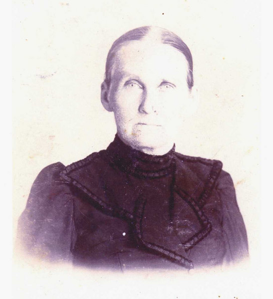 Sarah Morris Griffin 1838-1918 wife of Mitchell M. Griffin. They were the parents of 4 children, James Wesley, William Harrison 'Hass', Georgia, and Thomas I. After Mitchell died in the Civil War, Sarah married William Evander Connell on April 24, 1864, His wife Martha J. Smith died while he was serving in the Civil War and away from home. This Marrage produced eight children.