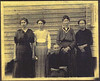 Rachel Mathis Griffin, seated and daughters. L/R: Lilly Griffin Taylor, Janie Griffin Griner, Annie Griffin Griner, Eula Griffin Taylor