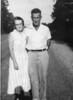 Louelle (McKinnon) and Leon Hall, circa 1950's. Louelle McKinnon was daughter of James Carter and Bessie Marie (Avera) McKinnon. born 30 September 1911, died 15 April 1979.