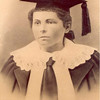 This photo of Ola Corine Chambless was made in Milledgeville, Ga. where she graduated from Georgia Normal and Industrial College, which was founded in 1889 as a woman's college specifically for teacher training and for the learning of business skills. Ola Chambless finished her training in 1893 and taught school in Enigma after she married Adolphus Hammond in 1899. Some family members have been told that she that she was the first teacher in the Enigma Schools.  Finding an early history of the schools in Enigma would help to prove whether that could be true.  We are searching for photos of the early one and three room schoolhouses in Enigma.<br />  (Submitted by:  Jo Ann Hammond Crews)