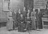 James Irvin and Georgia Anne Mathis Hancock family pictured with their children (no particular order) Emma Hancock McLendon, Millie Hancock McLendon, Arial Hancock Myers, Lettie Hancock Myers, Euna Elizabeth Hancock Sirmans, Effie Hancock Bostic, and Perry Hancock. Photo courtesy of Joan Sirmans