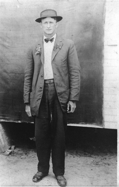 Edward O. Harsey, born South Carolina circa 1885, resident Alapaha