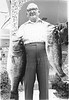 Joe Harvey Sr. with Fish, May 1973