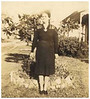 Miami (Mima) Hendley Watson in 1942 at her W. Dennis Street home in Nashville. Mima was the daughter of Manassas and Sarah Catherine Hendley. She was married to Linton (Lint) Watson and they had two children, Ollin and Mildred. She later married Arthur Quesnell.