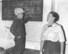 Emily Jones McGregor and grandson, September 21, 1967