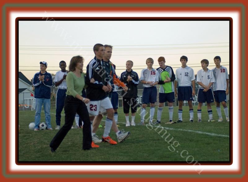 2010 Soccer<br /> September 30, 2010<br /> Seniors Recognized<br /> 034