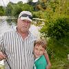 Mark with grandson Caden