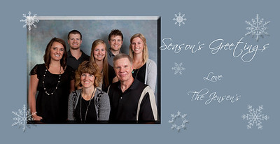 jensen christmas card