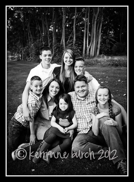 Jensen Family 15 Sept 2012