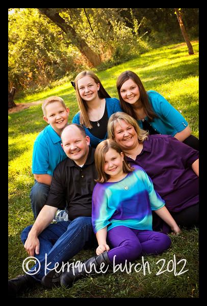 Johnson Family 22 Aug 2012