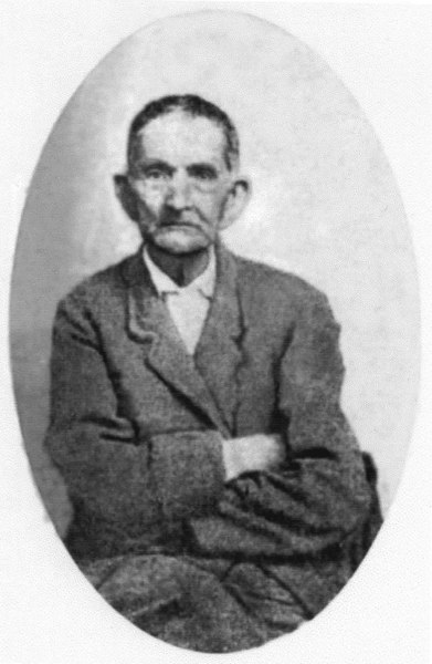 William Lastinger, bought the Lee's millpond property near Milltown in 1848.<br /> Photo courtesy of John B. Lastinger