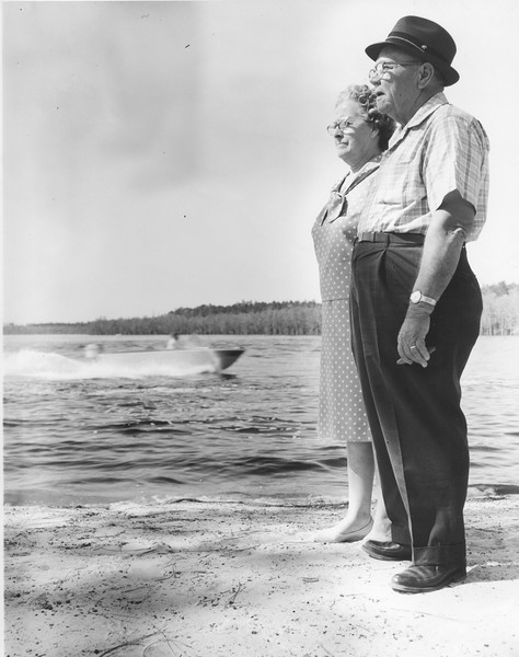 Lonnie and Mittylene Phillips Lewis 1965