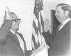 Judge Lott sworn in by Pat Webb Jan 1973