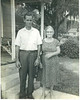 Harold A. Lynch, with his mother, Bahila Gibbs Lynch.