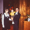 Linda, Brian, Gerald, Dale's Wedding, 1969