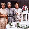 Ruth, Bonnie, Betty, Pat's Wedding, 1985