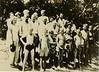 Mathis family gathering at Alapaha River, behind Riverside Church, circa 1950's