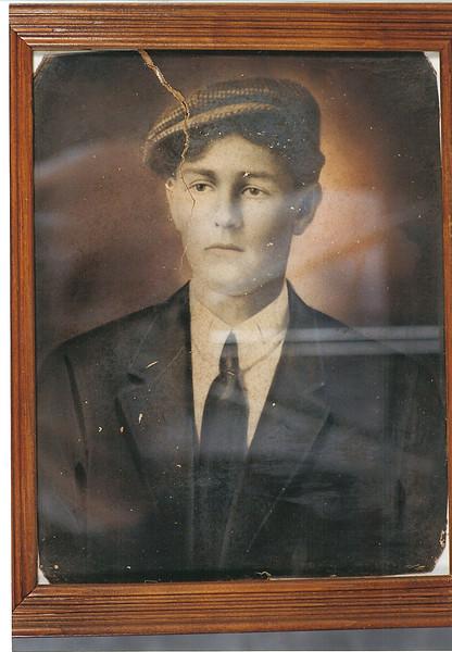Lovick Pierce McKinnon, son of Reddick Charles and Carrie Ann Jane (Goodman) McKinnon, b. 4 June 1884, d. 6 April 1918.