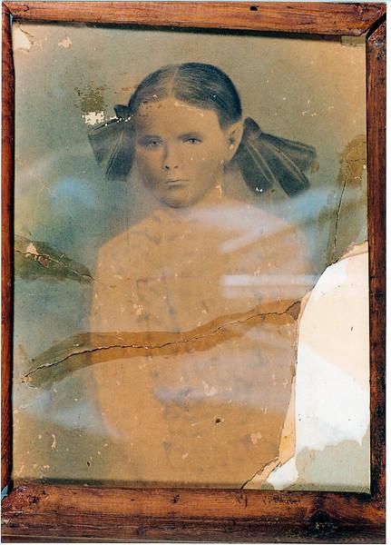 Ella S. McKinnon, daughter of Reddick Charls and and Carrie Ann Jane (Goodman) McKinnon, born 1904, died 1916.