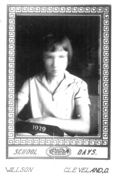 Neva Lois McKinnon, born 6 November 1916, died 6 November 2001, daughter of James Carter and Bessie Marie Avera McKinnon.  This was school year 1929, at Nashville Public School.