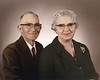 Pearly McMillan and his wife Mary Hammond McMillan, from Enigma, Georgia<br /> Photo courtesy of Jo Ann Hammond Crews