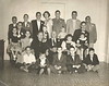 "20 of 27 grandchildren at the 50th Wedding Anniversary of Nancy and Joe Nix in 1953.<br /> Front Row: Wilson Nix, Wayne Nix, Alvin Culverhouse, Henry Gray, Billy Bob Nix <br /> Second Row: Harriet Morton, JoAnn Culverhouse, Nancy Swain Nix, Joe Varn Nix, Dottie Nix Judy Nix<br /> Third Row: Russell Gray, Jerry Don Morton, Steve Culverhouse, Guy Maddox<br /> Fourth Row: Robert Culverhouse, Jimmy Morton, Lamar Gray, Frances Gray, Billy Culverhouse, ""Buck"" Nix, Joe Harry Morton<br /> Photo courtesy of Frances Gray Plair"