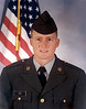 Spec. 4 Dan Luther Nix<br />         <br /> Dan Luther Nix was born on May 29, 1970, to Joe Russell and Elizabeth Ann Sigers Nix of the New Lois Community, Berrien County. Approximately five minutes later his twin brother, Stan Elbert was born. The twin boys had two older brothers, Mark, Greg and Doug. Growing up on a farm, he learned how to work at an early age.<br />         <br /> Dan was active in sports from Little League all the way through high school where he was a part of the Berrien High School baseball team that won state championship with a perfect 31-0 record during his senior year. Upon high school graduation he entered Valdosta State College, then transferred to the University of Georgia where he earned a degree in Physical Education.<br />         <br /> Dan joined the Army Reserves in April of 1994. He received his basic training at Ft. Leonard Wood, Missouri, then went on to advanced training at Ft. Sam Houston, Texas, where he was trained to be a surgical technician. Upon completion of this training he was assigned to Ft. Gordon 3297th U. S. Army Hospital, MOS 91 Delta. He stayed in Active Reserve until then Inactive Reserve until discharge in March of 2002.<br />         <br /> Dan worked as a fitness director at the Valdosta YMCA before transferring to the Waycross YMCA. He was promoted to CEO of the Waycross facility where he served until June of 2007.<br />         <br /> On December 5, 2003, Dan married Rachel Ann Rider. They have two daughters, Chloe and Allison. He and his family moved to Clayton, Georgia, in the summer of 2007. Dan is employed by the Clayton Tribune, and is the part-time youth Pastor of the Wolfork Valley Baptist Church in Rabun County.