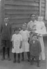 The children of Charlie and Martha Ann Nash from around 1917-1918.  <br /> L-R:  Osie, Fannie, Mary Jane, Lonnie, Martha Ann Nash, and Pearlie<br /> (Courtesy of Skeeter Parker)
