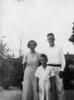 Mary Jane Nash Parker, Arlie Parker, Jr. and Arlie Parker, Sr. (Courtesy of Skeeter Parker)