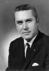 """Arlie Parker, Jr. (1928-2001) – This picture was taken around 1966.  Arlie Parker Jr. was associated with City Cleaners and Laundry from 1948 until his retirement in 1990.  He also served a term on the Nashville City Council in the early 1960s and was a member of the Nashville Fire Department for 35 years (1948-1983).  He also drove a school bus for Berrien  County from 1977-1990.  Many of Nashville's """"grownups"""" will remember receiving chewing gum or candy from """"Mr. Arlie"""" when they were youngsters, as he made his rounds on his dry cleaning route."""