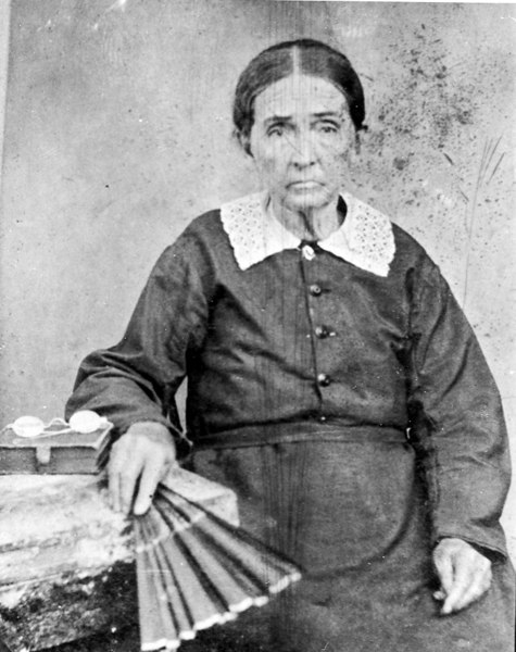 Tobiatha DeVane Parrish 1817-1897, was the wife of James W. Parrish