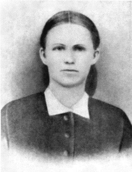 --------------Eliza (Watson) Patten, wife of Sylvester Patten, about 1880-------------<br /> Photo courtesy of Wylene  Corbett