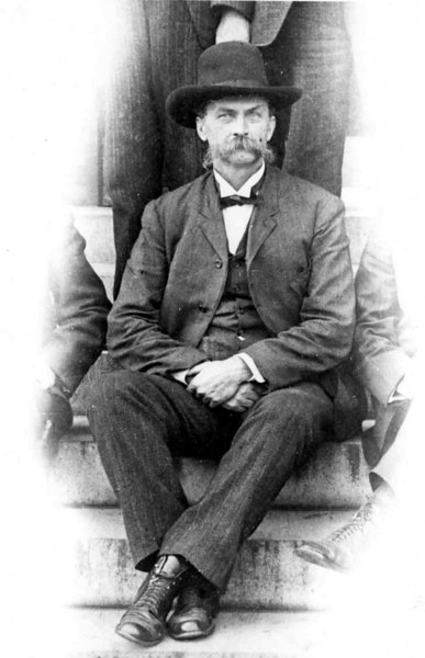 Samuel R. Patten<br /> Early 1900 prior to 1904<br /> Photo courtesy of Martha Cooper Blanton