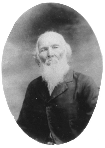 Jethro Patten, one of Empire Primitive Baptist Church's first deacons ordained in 1854