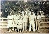 John J. and Mary Ellen McMillan Paulk family reunion about 1940