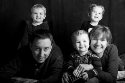 O'Shea Family 2008B&W