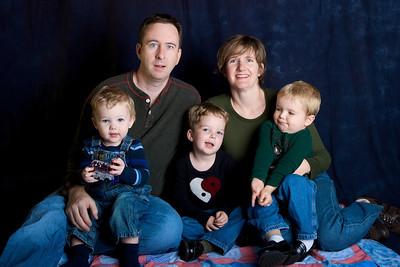 O'Shea Family 2008