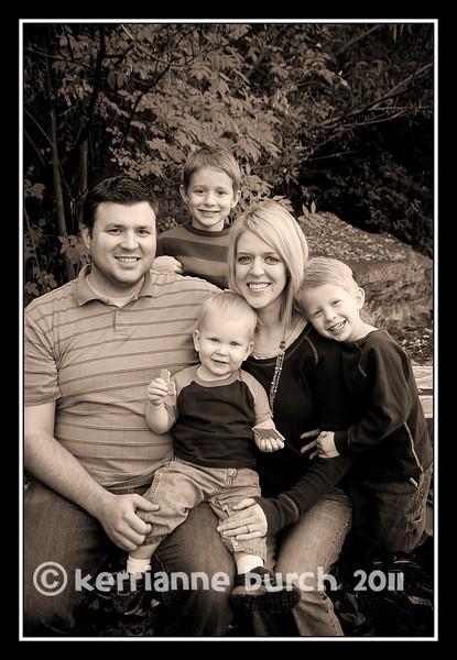 Hunt Family 28 Oct. 2011