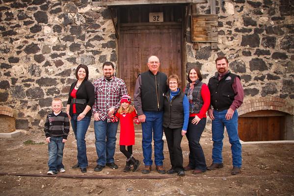 Miller Family 22 Dec. 2012