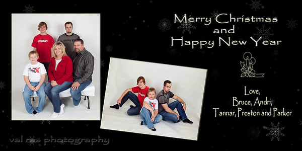 olson christmas card copy