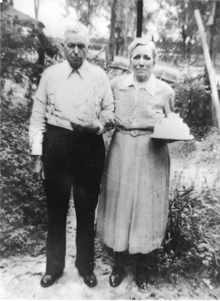 John and Mollie Robinson<br /> Photo courtesy of Bobby Robinson