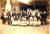 John Thomas and Clarisa Knight Rowan children, grandchildren, and great grandchildren, Cottle Community, early 1900s<br /> John Thomas Rowan ws the oldest son of William Berry Rowan and Rosanna Porter Mullis Rowan, of East Berrien Community