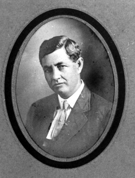 August Frank Sellers<br /> Photo courtesy of Brunell Yeomans