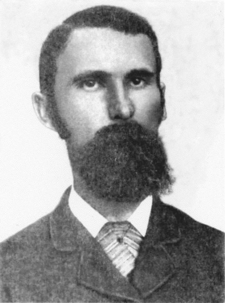 Benjamin Sirmans, son of Josiah Sirmans, founded Alapaha (later Milltown, now Lakeland) in 1838 and became the first postmaster.<br /> Photo courtesy of Dr. Louis Schmeir