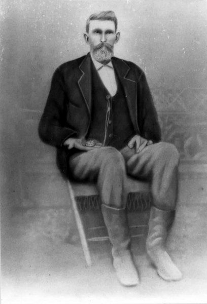 James Murray Sloan, moved to Berrien County in 1871.<br /> Photo courtesy of Margaret Berryhill Wynn